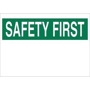 25370 SAFETY FIRST HEADER
