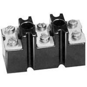 "ABB CR2960SY139C3D Terminal Block, 150A, 3 Point, 3/0AWG, 0.850"" Between Barriers"