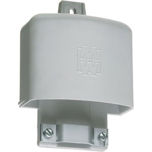 """Arlington EH201 PVC Entrance Hood, Depth: 2-1/2"""", Cable Size: (3) 1/0 to (3) 4/0 AWG"""