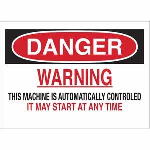 23046 MACHINE & OPERATIONAL SIGN