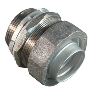 "Appleton ST-125AL Liquidtight Connector, ST Series, Straight, 1-1/4"", Aluminum"