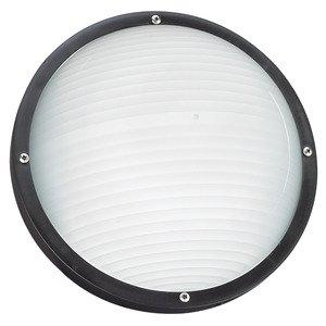 Sea Gull 83057BLE-12 One Light Fluor Outdoor Bulkhd