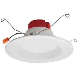 """Elco Lighting EL61530W Round LED Reflector Insert, White, 5"""" or 6"""""""