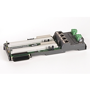 Allen-Bradley 1715-A2A I/O System, Redundant, Adapter Base, for 2 x 1715-AENTR