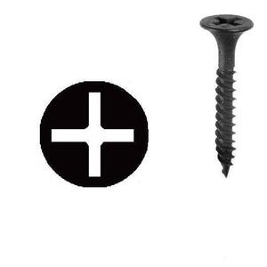 "Dottie DWSBX6114 1-1/4"" Drywall Screw, # 6 x 1-1/4"", Phillips/Bugle Head, Fine Thread"