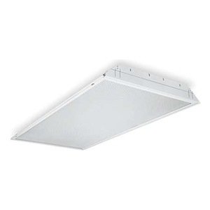 Lithonia Lighting GT3MV Lensed Troffer, 2 x 4', 3-Lamp, T8, 32W, 120-277V