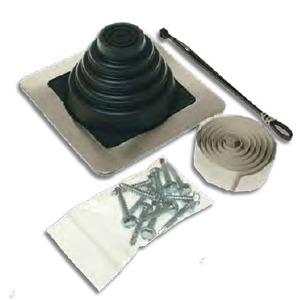 """Metallics RJK2 Roof Jack Kit, 6"""" Base, 1/4 to 3"""""""
