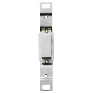 Hubbell-Bryant RA756W Toggle Adapter, Blank, White