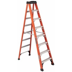 Louisville Ladders FS1408HD STEP LADDER LOUISVILLE BRUTE TYPE IAA CSA ANSI A14.5 OSHA 8.000 FT LADDER HT
