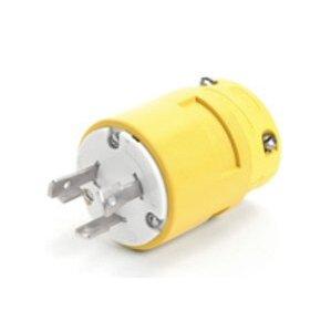 Woodhead 2809 Super-safeway Plug Non-NEMA 30a120/208v