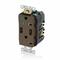 T5832-HG BRN COMB DPLX RECPT/USB HG CHGR
