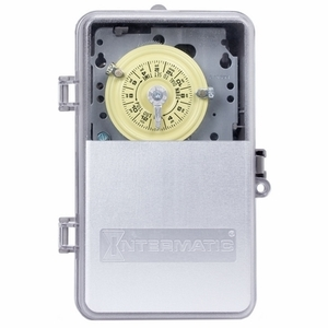 Intermatic T104PCD82 24-Hour Mechanical Time Switch