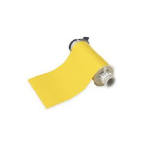 "Brady 13578 Low-Halide Polyester Label, Yellow, 10"" x 50'"