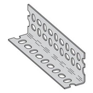 "Cooper B-Line SA276ZN120 Slotted Angle, Steel, Zinc Plated, 14 Gauge, 1-5/8"" x 1-5/8"" x 10'"