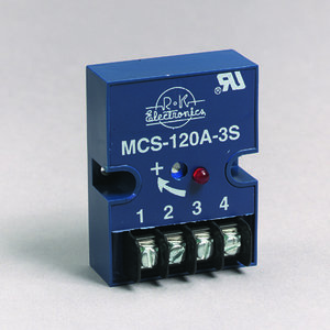 R-K Electronics MCS-120A-2S Timing Relay, On-Delay, 1A, 120VAC Input, .01 - 45 Sec, Range