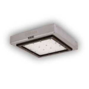 SYLVANIA LSC-L-40-750-T5-UNV-SV LED Luminaire, Outdoor, 40W, 120-277V, Silver, 5000K *** Discontinued ***