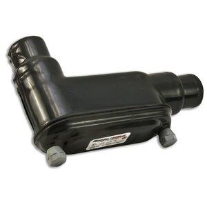 """Plasti-Bond PRHLB58 Conduit Body, Type: LB, FM8, 1-1/2"""", PVC Coated Iron"""