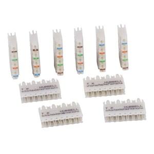 Hubbell-Premise 110CB5PR10 110 SYS, CONN BK,CAT5E,5PR,10PK
