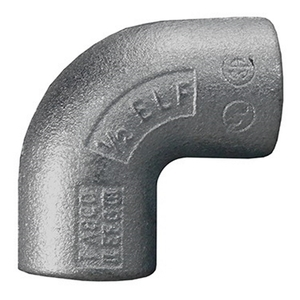 "Appleton ELF90125A Elbow, 90°, Female, 1-1/4"", Explosionproof, Aluminum"