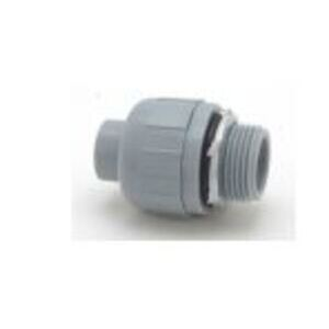 "M & W Electric NM5554A Liquidtight Connector, 1/2"", 90°, Non-Metallic"