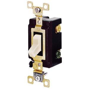 Hubbell-Bryant CS120BI Switch, Comm, Sp, 20a 120/277v, Sw, Iv