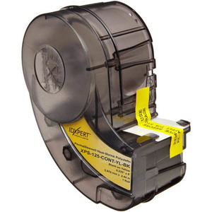 Brady XPS-125-CONT-YL-BK IDXPERT® Heat-Shrink Wire Marker Sleeves