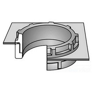 "OZ Gedney ABB-250 Conduit Bushing, Insulating, 2-1/2"", Threaded, Thermoplastic"