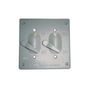 Appleton WVTT2 2 Gang Cvr 2 Switches