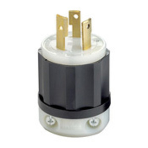 Leviton 2661 Locking Plug, 30A, 125/250V, 3P3W