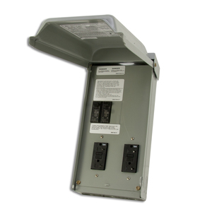 Midwest U011C010 70A, 1P, 120/240V, Temporary Power