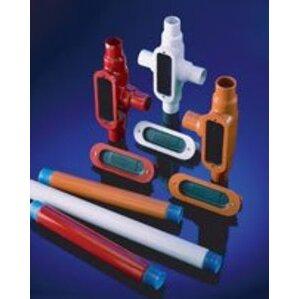 Ocal THR3/8X6-G PVC CTD ALLTHREAD ROD 3/8IN 6FT GRY