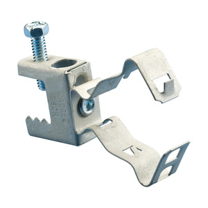 nVent Caddy BC24MSM Clamp,beam,1 1/2 Conduit Thru 1/2 Flange