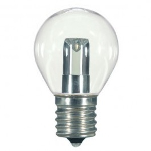 Satco S9167 1 watt LED; S11; Clear