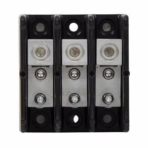 Eaton/Bussmann Series 16280-3 Connector-Stud Block, 3-Pole, Single Primary - Single Secondary
