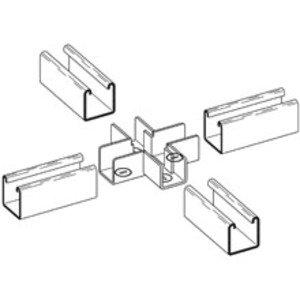 Eaton B-Line B769-22 CROSS STRUT JOINER, FOR 1 5/8-IN. X 1 5/8-IN. CHANNEL, ZINC PLATE