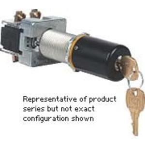 Hubbell-Killark GO28-2A3F22D G Key 2p Sel Swt Maint Cont