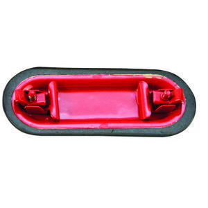 "Plasti-Bond PR270 Conduit Body Cover, Type: FM7, Size: 3/4"", Material: PVC Coated Iron"