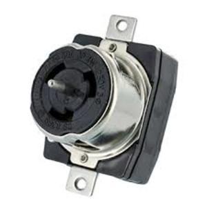 Leviton CS8369 Locking Receptacle, 50A, 3PH 250V, California Style, 3P4W