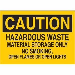 22707 CHEMICAL & HAZD MATERIALS SIGN