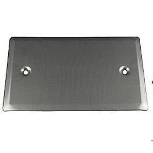 Calbrite S607BLPLTS Gang Box Cover, 1-Gang, Flat, Blank