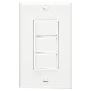 P66WN WALL CONTROL 3FUNCT WHT