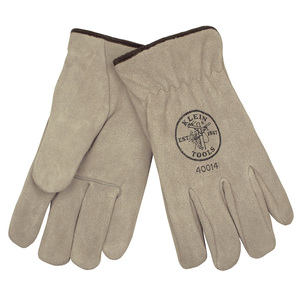 40015 SUEDE COW DRIVERS GLOVES LINED XL