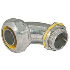 Hubbell-Raco 3423DC LIQUIDTIGHT CONNECTOR 90 3/4 IN DC ZINC