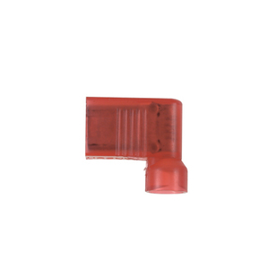 """Panduit DNFR18-250FIB-L Right Angle Female Disconnect, Nylon Fully Insulated, 22 - 18 AWG, .25"""" Tab"""