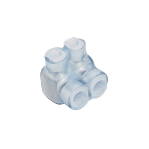 Panduit PCSB600-4S-2Y Multi-Tap Connector, Single-Sided, Clear