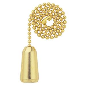 Westinghouse Lighting 7700500 SOLID BRASS TEARDROP PULL CHAIN