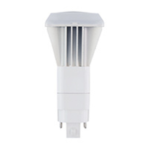 Halco PL10V/850/BYP/LED LED Plug-In Lamp, 10 Watt, 1000 Lumen, 5000K, 120-277V