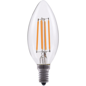 Eiko LED4WB11E12/FIL/827-DIM-G7 LED ADVANTAGE FILAMENT B11 320 DEG 4W-3
