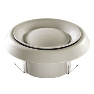 """Nutone CVG4 Grille, 4"""", Round, White"""