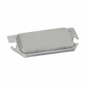 Eaton B-Line BPR2 METAL PROTECTOR PLATE FOR TWO DEVICE RECEPTACLE & GFCI
